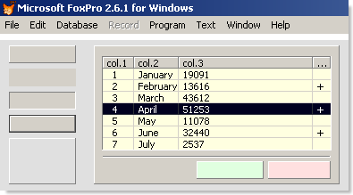 FoxPro for Windows 2 6 1 upgrade